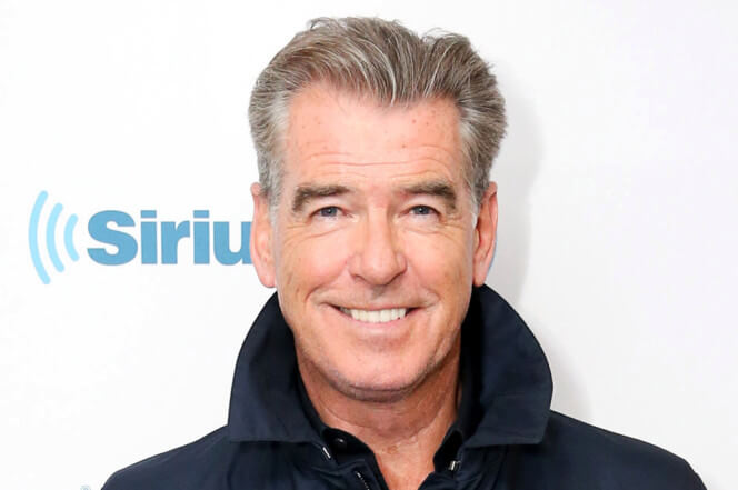 Pierce Brosnan is a budding Picasso