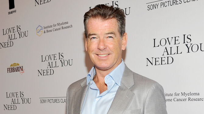 AFM: 'November Man's' Pierce Brosnan Has a Full Film Slate