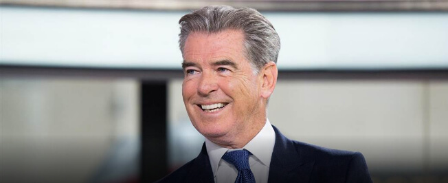 "Pierce Brosnan To The Host 7th Annual ""Breakthrough Prize"" Ceremony"
