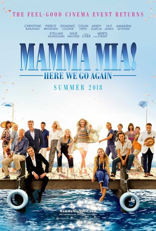 MAMMA MIA HERE WE GO AGAIN Official Trailer (2018)