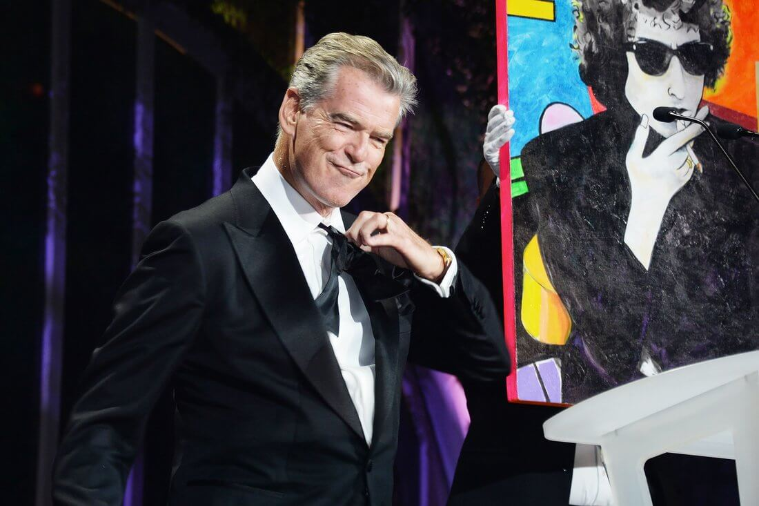 Pierce Brosnan Is an Artist — and This Painting of His Just Sold for $1.4 Million!