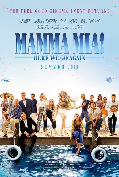 MAMMA MIA HERE WE GO AGAIN Official Trailer (2018)