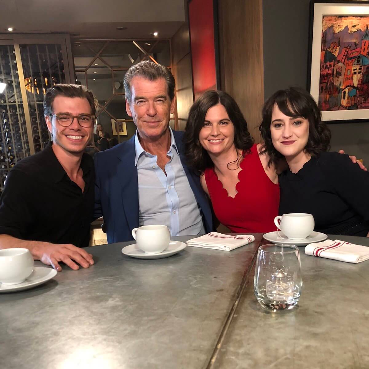 All Grown Up: Pierce Brosnan Reunites With The Mrs. Doubtfire Cast 25 Years Later