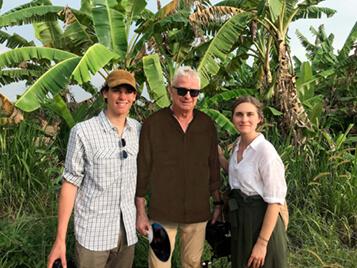 Pierce Brosnan's Son Paris Creates Inspiring Short Film to Combat Childhood Hunger in Sri Lanka